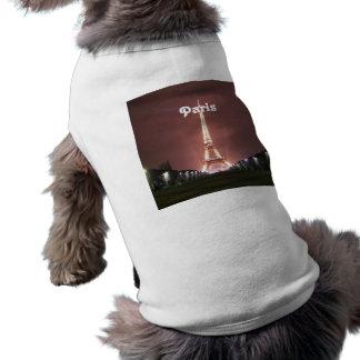 Paris Dog Tshirt