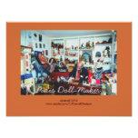 Paris Doll-Maker Shop Photographic Print