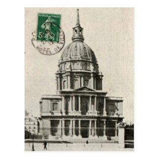 PARIS Dome of the Invalides replica postcard 1912