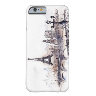 Paris drawing barely there iPhone 6 case