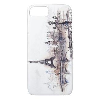 Paris drawing iPhone 7 case