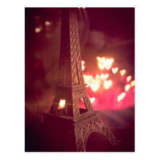 Paris dream love postcard