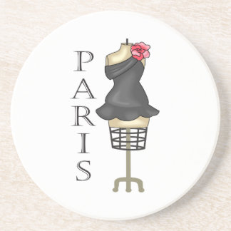 PARIS DRESS FORM COASTER