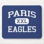 Paris Eagles Middle School Paris Arkansas Mousepad