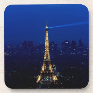 Paris Eifel Tower At Night Coaster