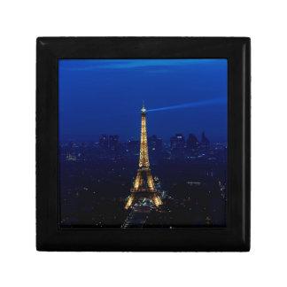 Paris Eifel Tower At Night Gift Box