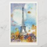 """Paris. Eiffel Tower.<br><div class=""""desc"""">Paris. Eiffel Tower. Watercolor.</div>"""