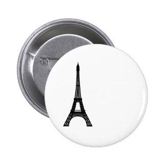Paris Eiffel Tower 2 Inch Round Button