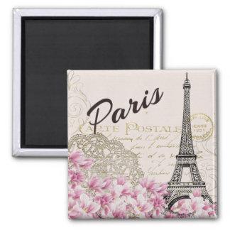 Paris - Eiffel Tower 2 Inch Square Magnet