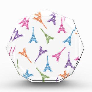 Paris Eiffel Tower Acrylic Award