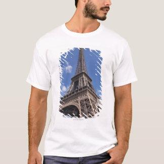 Paris Eiffel Tower against blue summer sky T-Shirt