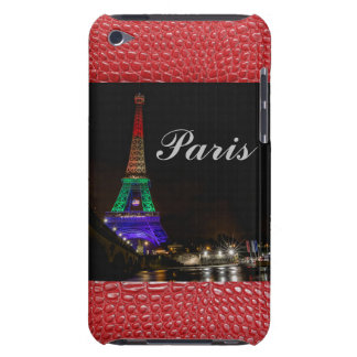 Paris Eiffel Tower Alligator Print iPod Touch Cover