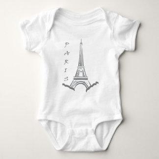 PARIS Eiffel tower Baby Bodysuit
