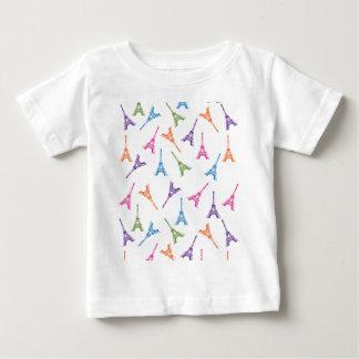 Paris Eiffel Tower Baby T-Shirt