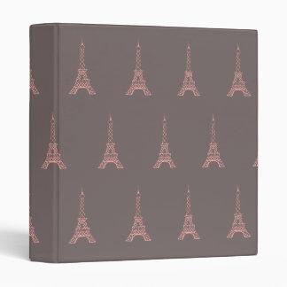 Paris Eiffel Tower Binder