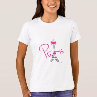 Paris Eiffel Tower, Bow, Cool T-Shirt