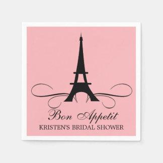 Paris Eiffel Tower | Bridal Shower Paper Napkin