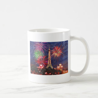 Paris Eiffel Tower City of Love with Silvester New Coffee Mug
