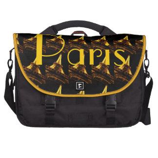 Paris Eiffel Tower Computer Bag