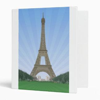 Paris: Eiffel Tower: Custom Binder
