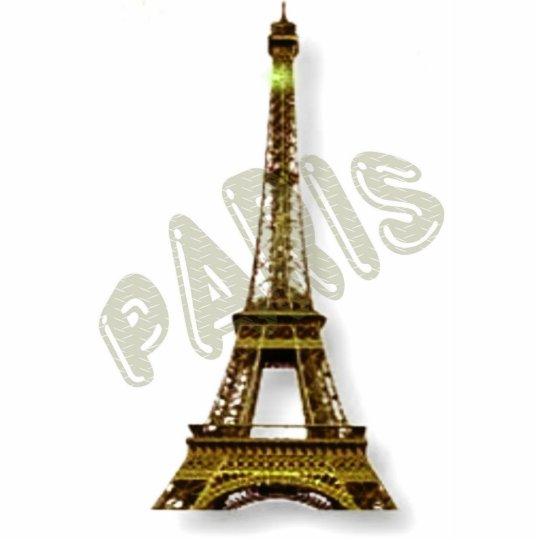 Paris Eiffel Tower Cutout