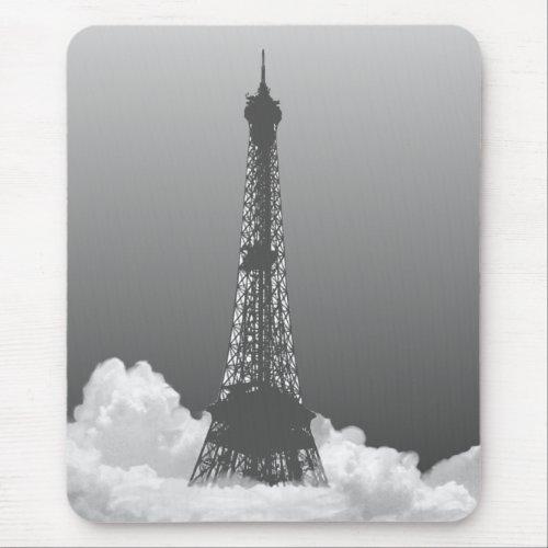 Paris Eiffel Tower Floats in Cloud Mousepad mousepad
