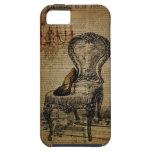 paris eiffel tower french regency rococo iPhone SE/5/5s case