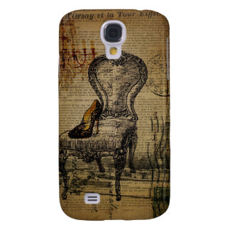 paris eiffel tower french regency rococo samsung s4 case