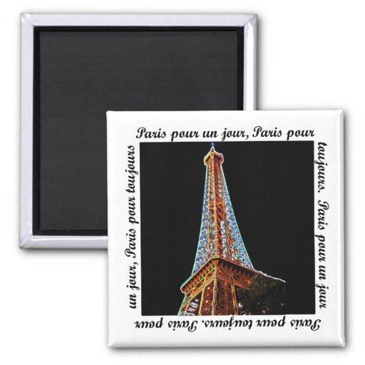 Paris Eiffel Tower Fridge Magnets