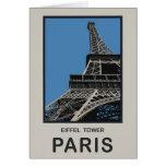 Paris Eiffel Tower Greeting Cards