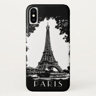 Paris Eiffel Tower iPhone X Case