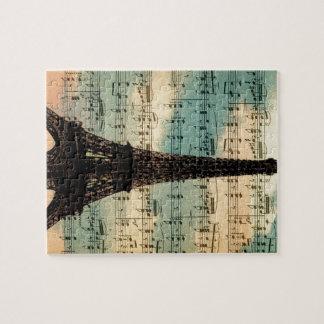 Paris Eiffel Tower Jigsaw Puzzle