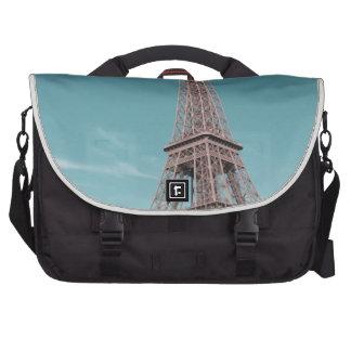 Paris Eiffel Tower Laptop Messenger Bag