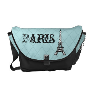 Paris Eiffel Tower Messenger Purse Diaper Bag Gift
