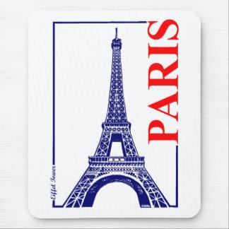 Paris-Eiffel Tower Mouse Pad