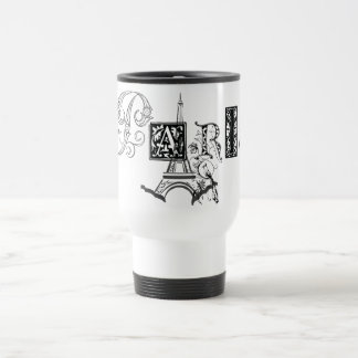 Paris Eiffel Tower 15 Oz Stainless Steel Travel Mug