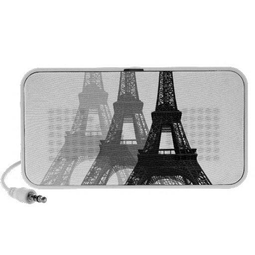 Paris Eiffel Tower Notebook Speakers