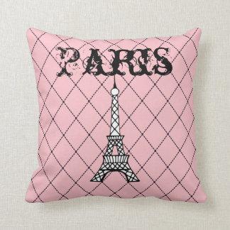 Paris Eiffel Tower Pillow