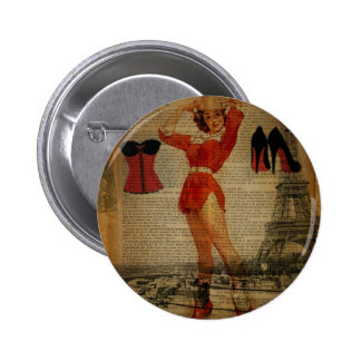 Paris Eiffel tower Pin Up Girl Bachelorette Party