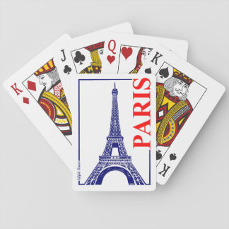 Paris-Eiffel Tower Playing Cards