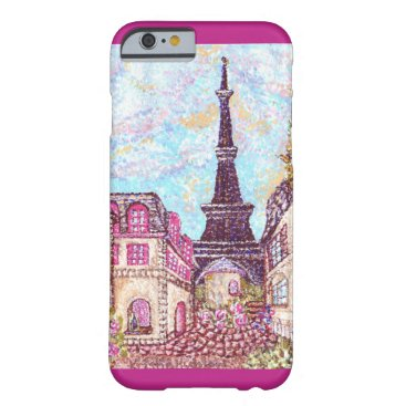 fabricatedframes Paris Eiffel Tower pointillism iPhone 6 case