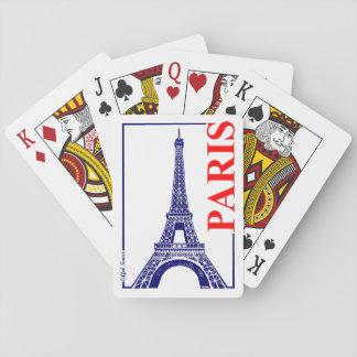 Paris-Eiffel Tower Poker Deck