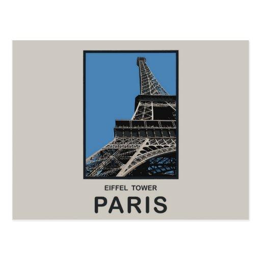 Paris Eiffel Tower Postcard