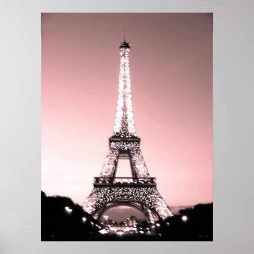 Paris Eiffel Tower Posters