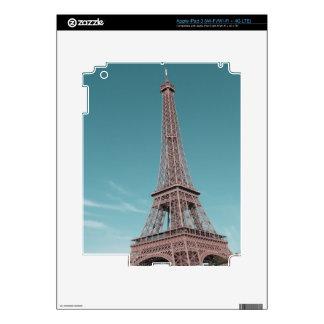 Paris Eiffel Tower Skin For iPad 3