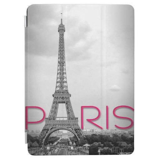 Paris & Eiffel Tower Typography iPad Air Cover