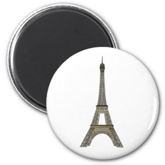 Paris: Eiffel Tower: Vector Drawing: Magnet