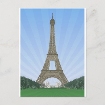 Paris: Eiffel Tower: Vector