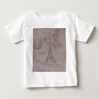 Paris -- Eiffle Tower Baby T-Shirt