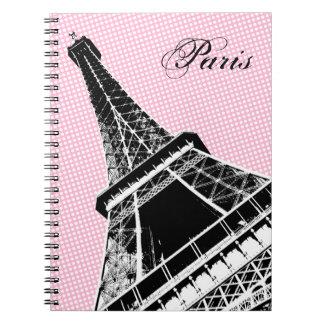 París, el cuaderno de la torre Eiffel
